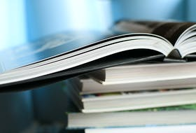 Books are shown in this stock image.