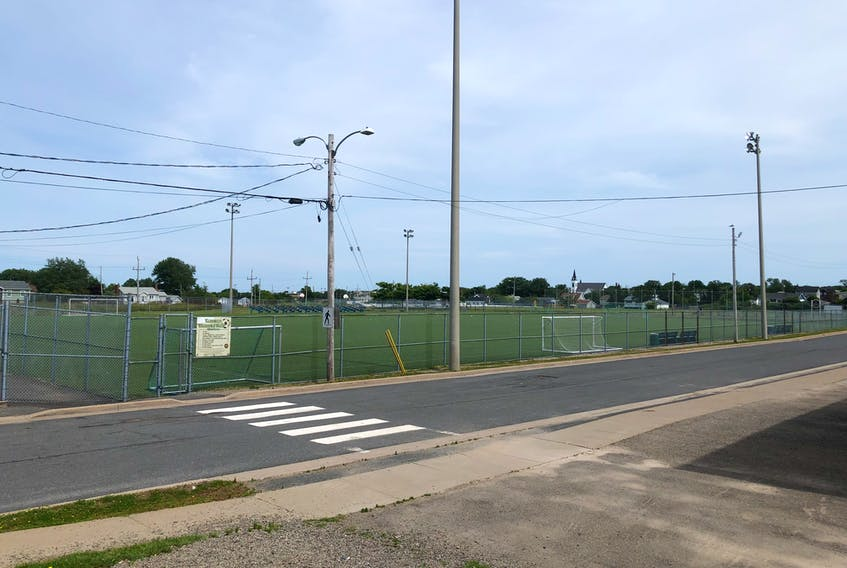 Veterans Memorial Field is among the New Waterford sports fields that will be relocated to make way for a new complex that will be home to a new Breton Education Centre, health centre and long-term care facility.