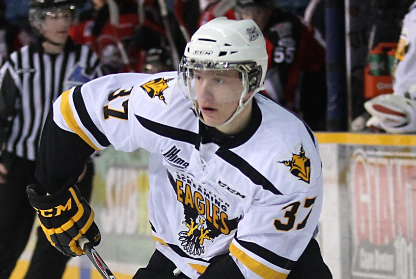 Former Cape Breton Eagles Evgeny Svechnikov will start the 2020-21 season with the Grand Rapids Griffins of the American Hockey League.