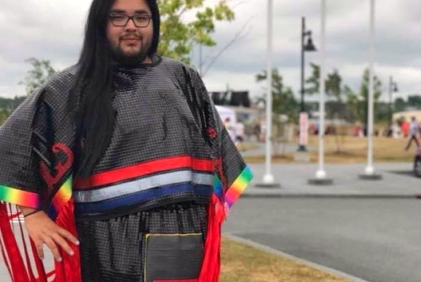 Bertram Bernard is from Eskasoni First Nation and hopes through education people can be more accepting of Two Spirit people. Contributed