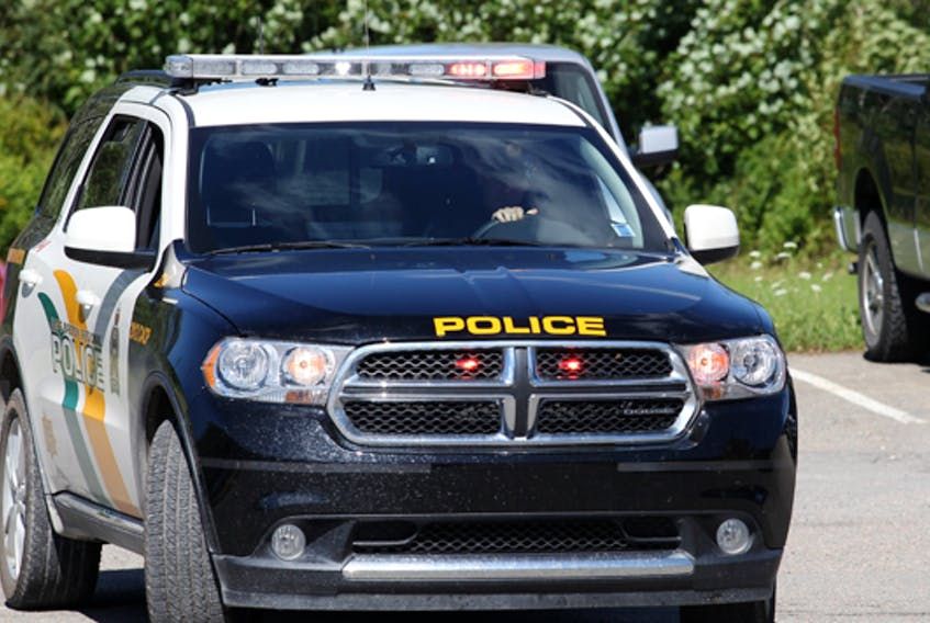 Shown above is a Cape breton Police Services vehicle