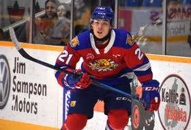Jordan Spence of the Moncton Wildcats will be one of four Atlantic Canadian players to represent Canada at the 2021 IIHF World Junior Hockey Championship in Edmonton. Team Canada opens the tournament Saturday against Germany.