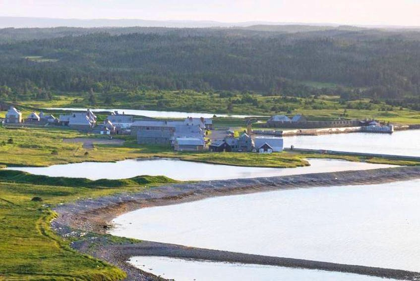 Fortress Louisbourg is shown in this file photo. SUBMITTED PHOTO