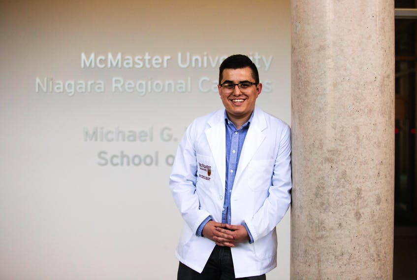 Dr. Carl Marshall is headed home to Atlantic Canada with his medical degree from McMaster University's Michael G. DeGroote School of Medicine.
