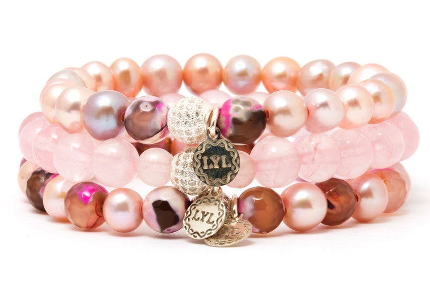 North Sydney resident Lisa Lee has launched a new online store for her collection of healing gemstone jewelry, which will also be featured at a Golden Globes gifting suite. SUBMITTED PHOTO