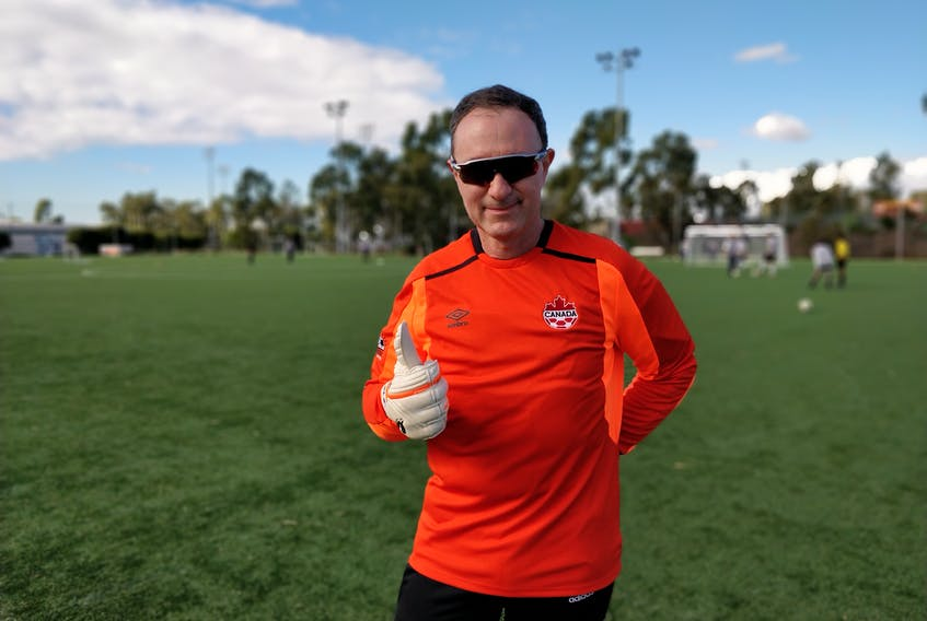 Dr. Horacio Yepes of Sydney will be Team Canada's goalkeeper at the 2019 World Medical Soccer Championship in Riviera Maya, Mexico. The tournament will mark the third time the 53-year-old has represented Canada on the international stage. PHOTO SUBMITTED/PAUL DHILLON