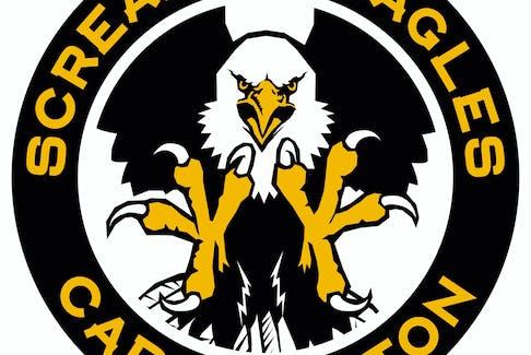 Cape Breton Screaming Eagles logo.
