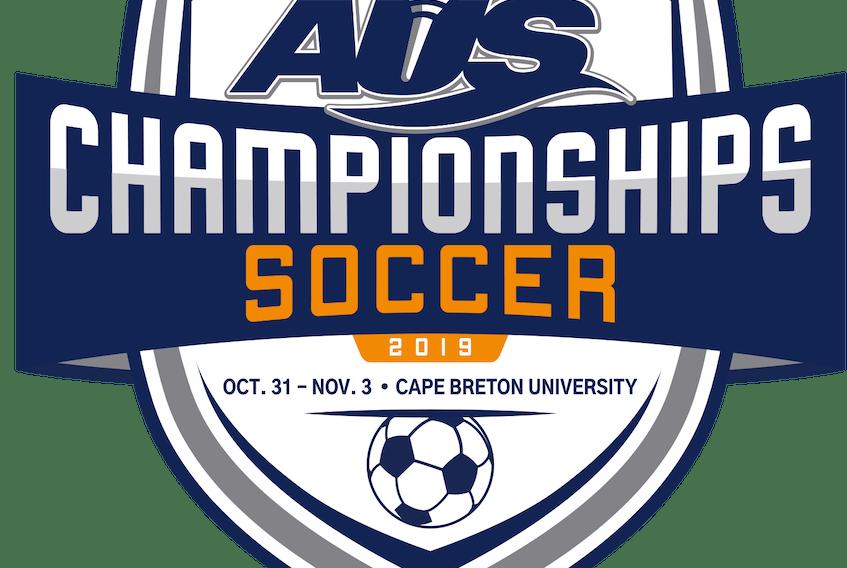 2019 Atlantic University Sport Soccer Championships logo.