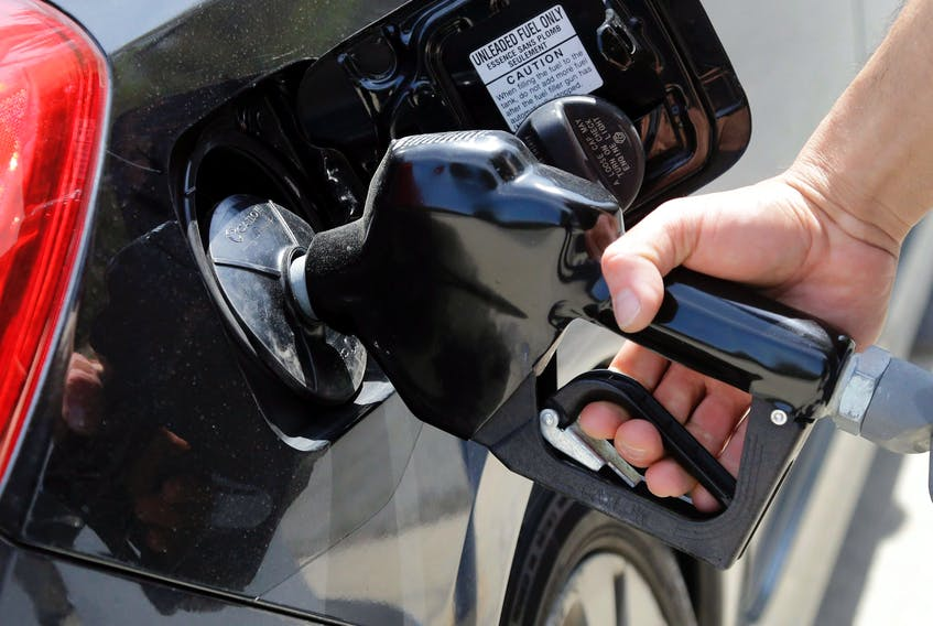 Gas is pumped into a motor vehicle in this file photo. When columnist Adrian White spoke to friends in Western Canada over the past few days, he learned that they were upset with voters in Cape Breton. They feel betrayed having provided employment for many Atlantic Canadian families only to have the region vote for a government not friendly to the Western resource sector.