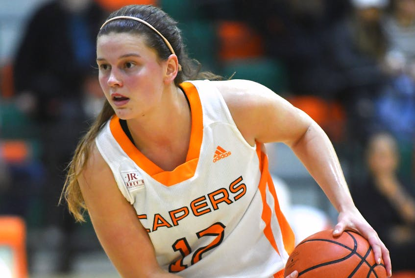 Former Cape Breton Capers player Alison Keough will have her No. 12 retired by the Capers basketball program on Friday. Keough played five seasons with Cape Breton University and won various awards.