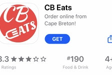 The CB Eats app as seen in the App Store.