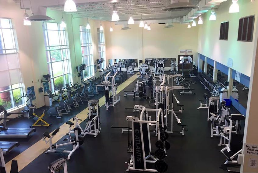 The conditioning centre of the Port Hawkesbury branch of the YMCA of Cape Breton is shown in this photo from 2015. The facility is set to close on Feb. 22.