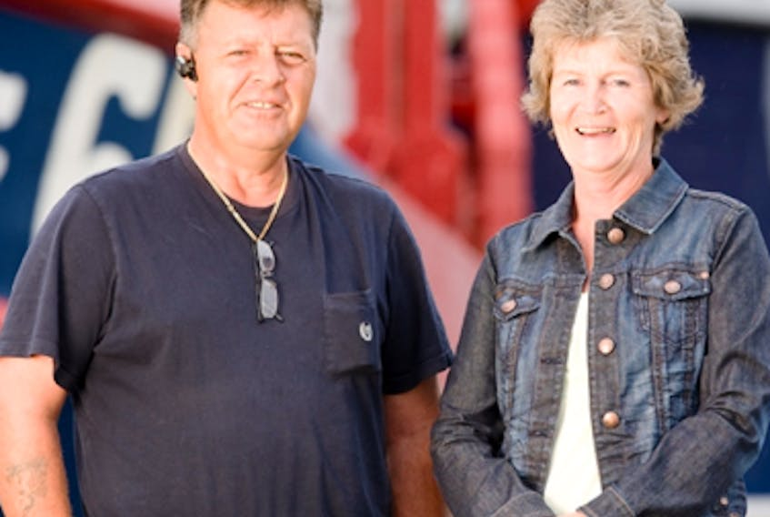 Jim and Lori Kennedy, owners of Louisbourg Seafoods Ltd., will be inducted into the Cape Breton Business and Philanthropy Hall of Fame on May 22 at the Membertou Trade and Convention Centre.