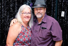 SUBMITTED PHOTO Peggy MacDonald is pictured with her husband, Kenny MacDonald. Peggy founded the Atlantic Acromegaly Support Society, which is a support group that helps people with her rare pituitary condition reach out to one another.