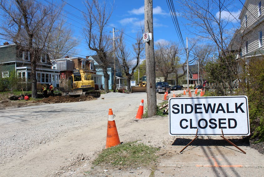 Work continues on water main replacement on George Street in Sydney and will see the street closed between Argyle Street and Byng Avenue on Saturday and Sunday so that water main connections at Trinity Avenue and Lorway Avenue can be completed.