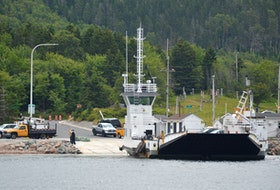 The Englishtown ferry, shown above in this file photo, is still not running yet this season.