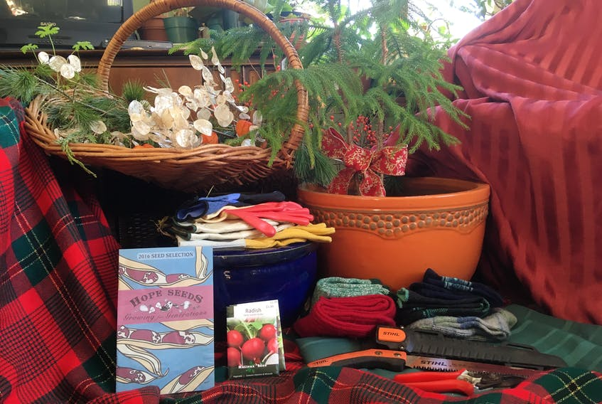 When buying Christmas gifts for your favourite gardener, consider seeds, good quality tools, plant pots and sturdy gloves and socks. Submitted photo.
