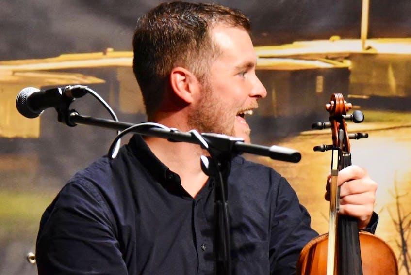 Kyle MacDonald has won the East Coast Music Association's Gaelic artist of the year award.