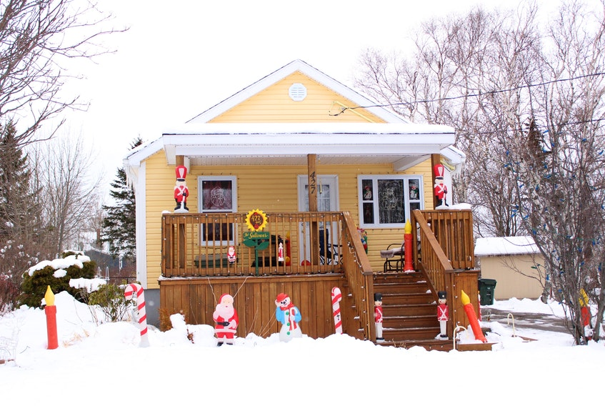 'Tis the season for Christmas displays but not all residents are able to get outside for viewings. To share the magic of the season, a Membertou woman has recorded the light displays of nearly 300 homes around the Cape Breton Regional Municipality. Shown above is a decorated home on Cabot Street in Sydney.