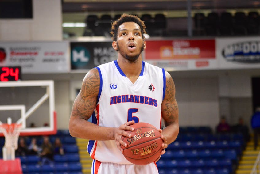 Guard/forward Charles Mann is the lone player back from last year's Cape Breton Highlanders roster. The National Basketball League of Canada team opens the 2017-18 season on Tuesday when they host the expansion St. John's Edge at Centre 200, a 7 p.m. start. (T.J. Colello/Cape Breton Post)