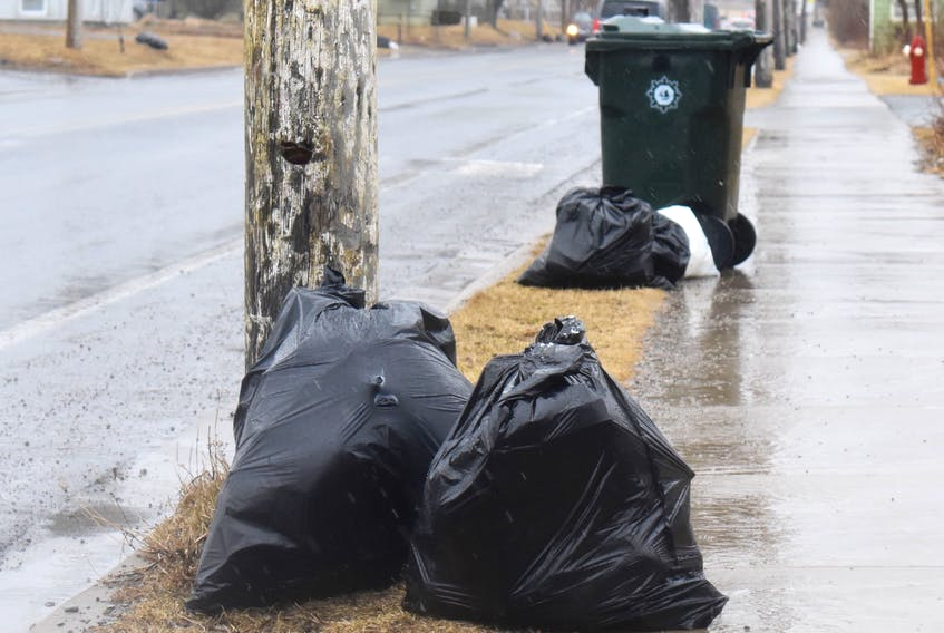 The manager of the CBRM's solid waste management department says the municipality plans to more strictly enforce the one black bag per household per weekly collection rule.