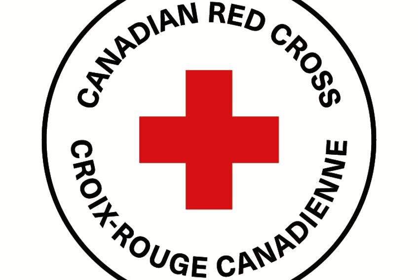 Canadian Red Cross logo.