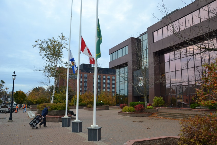 The Civic Centre in Sydney is shown in this file photo. Coming changes in how Ottawa taxes elected municipal officials is putting local councils between a rock and a hard place.