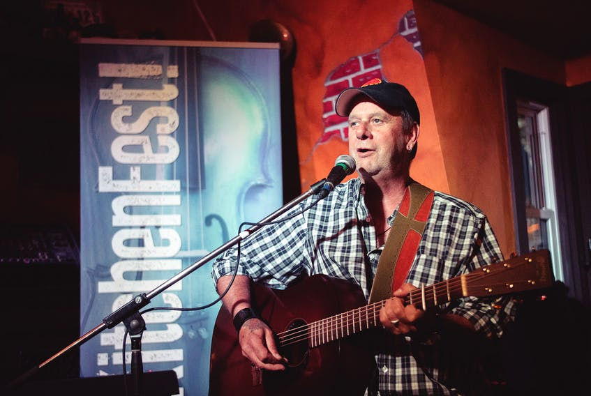 Singer-songwriter Buddy MacDonald is one of many performers who take part in KitchenFest.