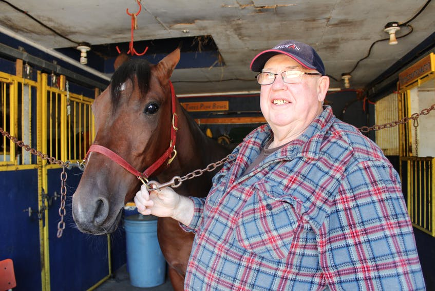Sonny Rankin is among the fixtures at Northside Downs Raceway through the years. He's shown with his horse itssammyfrommiami.