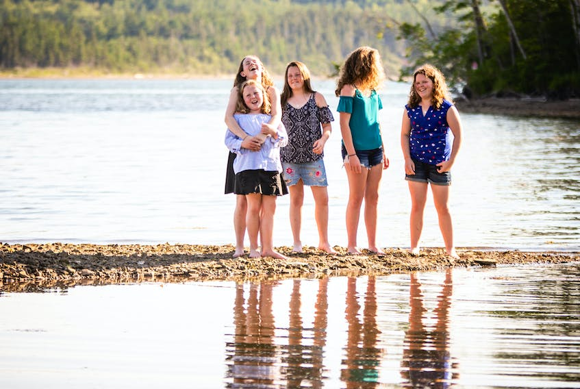 The members of NicNeil, five MacNeil sisters from Mabou including Floragael, 10, Katie Agnes, 13, Orianna, 14, Nora, 16, and Jessie Helen, 17, have been just nominated for their first East Coast Music Award in the Gaelic Artist of the Year category.