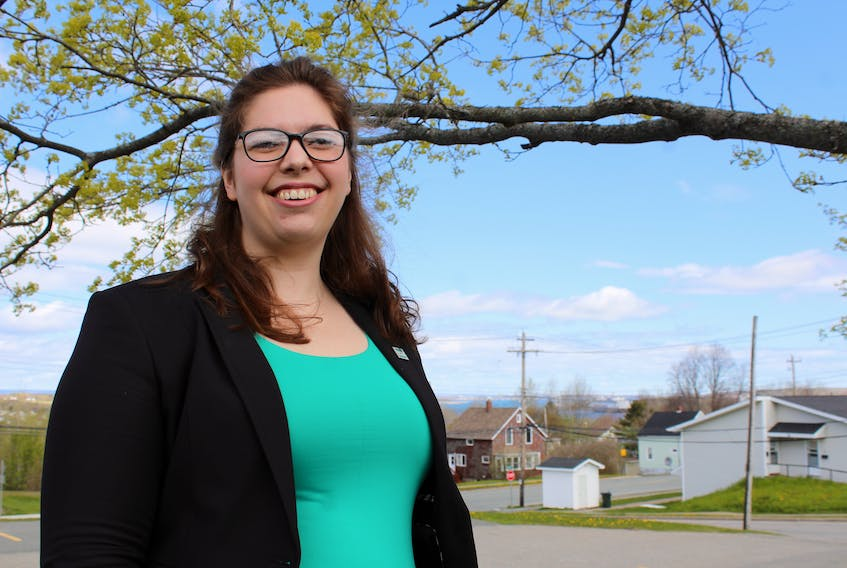 Courtney Schmidt works as the business adviser for the new Cape Breton office of Mount Saint Vincent University's Centre for Women in Business. She will be looking to offer new programs that will foster the further growth of entrepreneurship among women on the island.