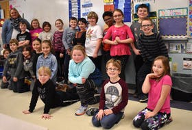 Erin McNeil's Grade 3 class at Greenfield Elementary School is proving they are super heroes for inclusion. They're doing a letter writing campaign in hopes of convincing the store manager of Sobeys in New Waterford Crystal MacKinnon to add sensory friendly shopping hours for people with autism and other special needs. MacKinnon said the students' excitement made her want to get involved. Picture here are: (back row from left) Teacher Erin McNeil, Liam Young, Christina Burton-MacKinnon, Allison Miller, Jayla Andrews, Matthew Pinhorn, Fletcher Morrison, Connor Lamey, Brayden Hanrahan-Glover, Brooklyn Sudworth, Austin Garnett, Chase Tatlock (front row from left) Jayden Morford, Nate Pheifer, Eva Brushett, Ella Grant, Kearley Ross, Floyd Borden, Elizabeth McNeil, Sebastian MacKinnon and Kaylee MacGillivary.