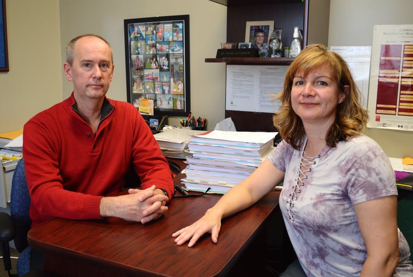 Drs. Mark and Stephanie Ellerker have served Glace Bay as physicians in family practise for almost 20 years, while also providing in-patient care at the Glace Bay Hospital. However, last month, they both withdrew from offering in-patient care, citing frustrations over pay inequities that they say will prevent the recruiting of new doctors to Glace Bay.