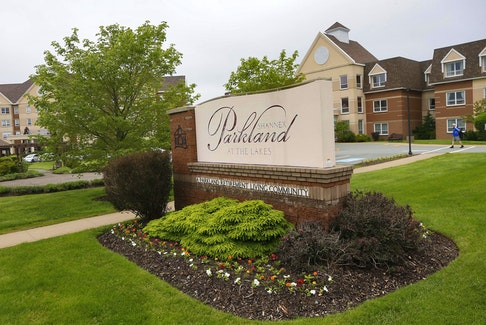 Parkland Estates retirement living community in Dartmouth. The family of the late Joan Harrison, a former resident, have filed a lawsuit relating to her death.