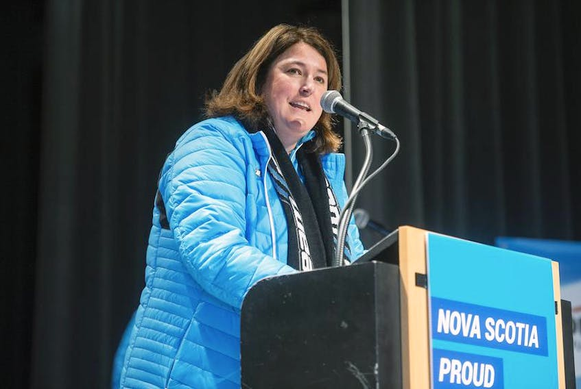Cathy Burton is Nova Scotia's chef de mission for the Canada Winter Games that begin Friday night in Red Deer, Alta.