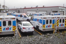 There was no disaster, but Emergency Health Services in Nova Scotia had to implement disaster protocol on Friday.