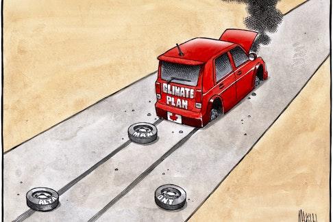 Bruce MacKinnon's editorial cartoon for Oct. 10, 2018.