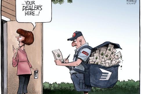 Bruce MacKinnon's editorial cartoon for Oct. 11, 2018.