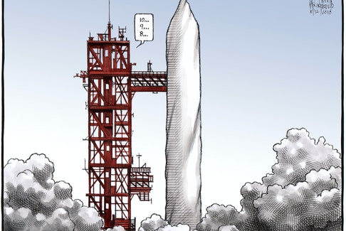 Bruce MacKinnon's editorial cartoon for Oct. 12, 2018.