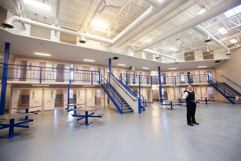 The North Block of the Central Nova Scotia Correctional Facility in Burnside, N.S.