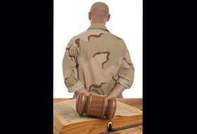 For use with stories regarding the military justice system.