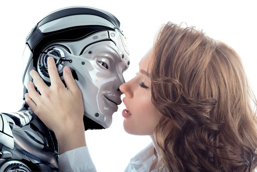 Sex with robots will increase, as technological developments produce new love interests. Shutterstock