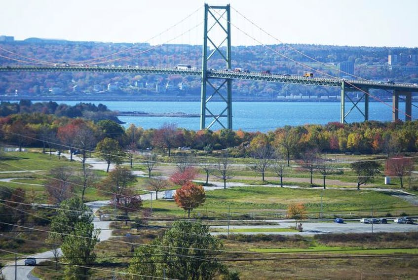 Shannon Park is seen in this photo taken on October 26. Halifax regional council is proposing the former military community as a potential site in its bid to entice Amazon to set up its second North American headquarters in Nova Scotia.