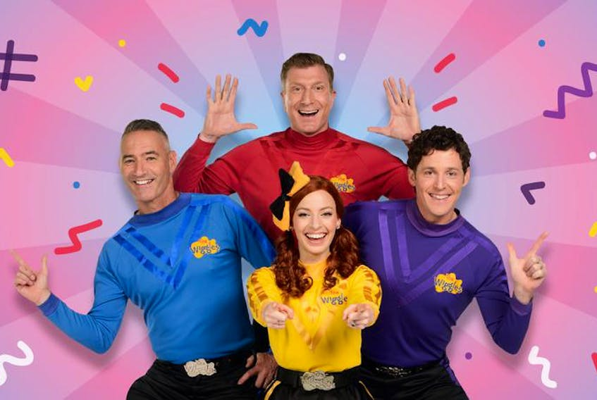 Contributed image of Australian children's musical group/TV show hosts The Wiggles.
