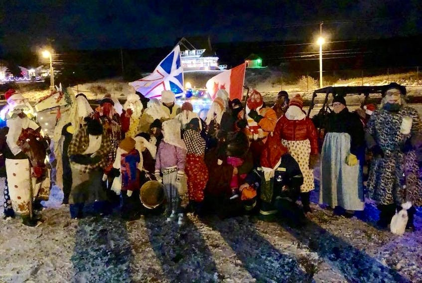 Mummers were out in full force on the south side of Harbour Grace Friday night, Dec. 29.