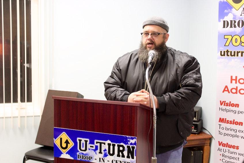 Jeff Bourne, executive director at U-Turn, says the stigma surrounding drug addiction needs to end.