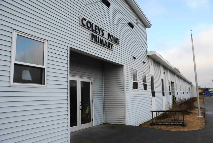 The Town of Bay Roberts has approved a motion to place a speed bump in front of Coley's Point Primary. — Compass file photo