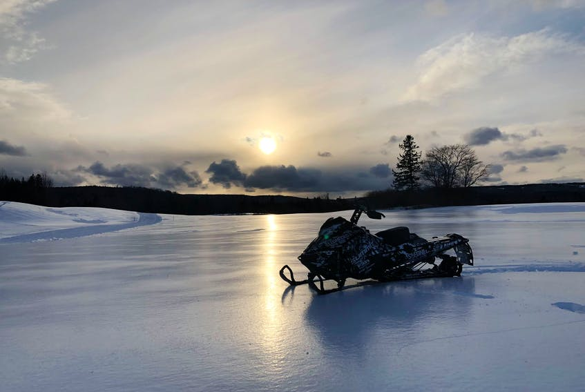 There are many snowmobile enthusiasts out there, so it's important to take care of those well-used trails. - Kevin Morse