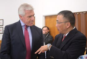 Leading into the announcement, Premier Dwight Ball and China Minmetals vice president Huang Chongbiao, discussed mining opportunities in Newfoundland and Labrador.