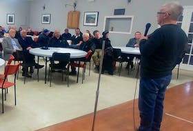 Approximately 40 people gathered in Millertown, March 27, to meet with provincial and federal government representatives about the repatriation of Beothuk remains from Scotland. The group felt the remains should be returned to Red Indian Lake, a known area of the Beothuk people, and that a monument should be erected in the area, as well.